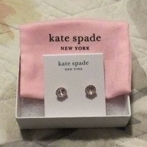 Kate Spade Sparkle Round Earrings
